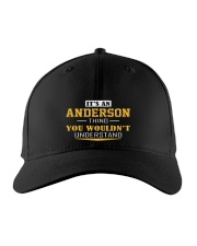 ANDERSON - THING YOU WOULDNT UNDERSTAND Embroidered Hat front