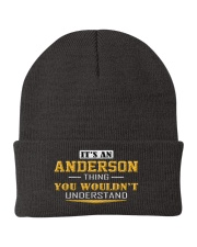 ANDERSON - THING YOU WOULDNT UNDERSTAND Knit Beanie thumbnail