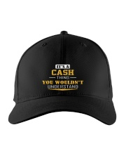 CASH - THING YOU WOULDNT UNDERSTAND Embroidered Hat front