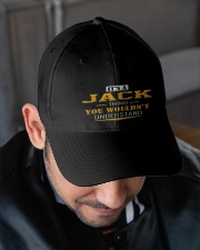 Jack  - Thing You Wouldnt Understand Embroidered Hat garment-embroidery-hat-lifestyle-02