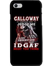 Calloway - IDGAF WHAT YOU THINK  Phone Case thumbnail