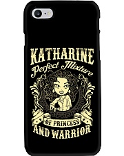 PRINCESS AND WARRIOR - Katharine Phone Case tile