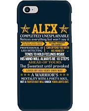 Alex - Completely Unexplainable Phone Case thumbnail