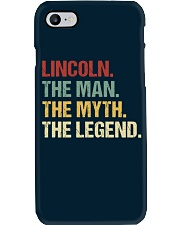 THE LEGEND - Lincoln Phone Case thumbnail