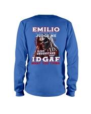 Emilio - IDGAF WHAT YOU THINK M003 Long Sleeve Tee thumbnail