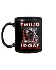 Emilio - IDGAF WHAT YOU THINK M003 Mug back