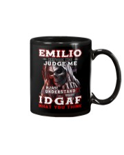 Emilio - IDGAF WHAT YOU THINK M003 Mug front