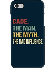 Cade The man The myth The bad influence Phone Case thumbnail