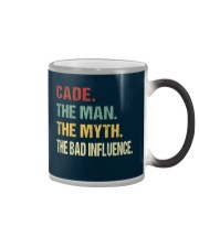 Cade The man The myth The bad influence Color Changing Mug tile