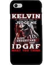 Kelvin - IDGAF WHAT YOU THINK  Phone Case thumbnail