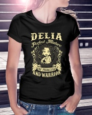 PRINCESS AND WARRIOR - DELIA Ladies T-Shirt lifestyle-women-crewneck-front-7