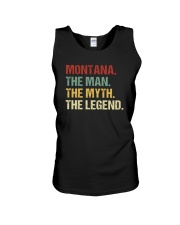 THE LEGEND - Montana Unisex Tank thumbnail