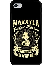PRINCESS AND WARRIOR - Makayla Phone Case thumbnail