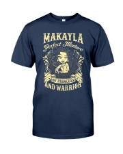 PRINCESS AND WARRIOR - Makayla Classic T-Shirt thumbnail