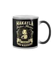 PRINCESS AND WARRIOR - Makayla Color Changing Mug thumbnail