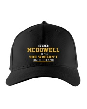 MCDOWELL - Thing You Wouldnt Understand Embroidered Hat front