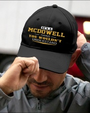 MCDOWELL - Thing You Wouldnt Understand Embroidered Hat garment-embroidery-hat-lifestyle-01