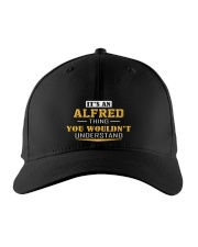 ALFRED - THING YOU WOULDNT UNDERSTAND Embroidered Hat front