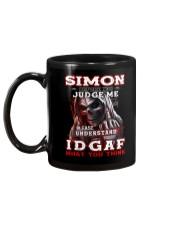 Simon - IDGAF WHAT YOU THINK M003 Mug back
