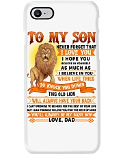 TO MY SON - LOVE - DAD Phone Case thumbnail