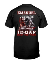 Emanuel - IDGAF WHAT YOU THINK M003 Classic T-Shirt thumbnail
