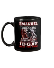 Emanuel - IDGAF WHAT YOU THINK M003 Mug back