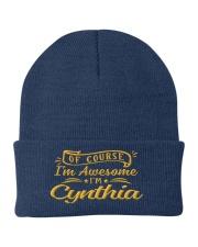 Cynthia - Im awesome Knit Beanie thumbnail