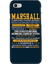 Marshall - Completely Unexplainable Phone Case thumbnail