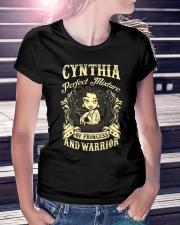 PRINCESS AND WARRIOR - Cynthia Ladies T-Shirt lifestyle-women-crewneck-front-7