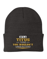 TITUS - THING YOU WOULDNT UNDERSTAND Knit Beanie thumbnail