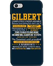 Gilbert - Completely Unexplainable Phone Case thumbnail