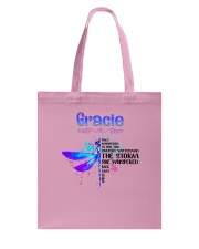 Gracie - Im the storm DRFL Tote Bag thumbnail