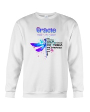 Gracie - Im the storm DRFL Crewneck Sweatshirt thumbnail