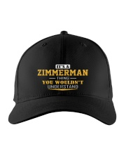 ZIMMERMAN - Thing You Wouldnt Understand Embroidered Hat front