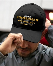 ZIMMERMAN - Thing You Wouldnt Understand Embroidered Hat garment-embroidery-hat-lifestyle-01