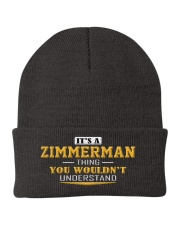 ZIMMERMAN - Thing You Wouldnt Understand Knit Beanie thumbnail