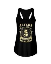 PRINCESS AND WARRIOR - ALYSHA Ladies Flowy Tank thumbnail