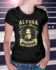 PRINCESS AND WARRIOR - ALYSHA Ladies T-Shirt lifestyle-women-crewneck-front-7
