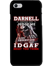 Darnell  - IDGAF WHAT YOU THINK M003 Phone Case thumbnail