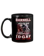 Darnell  - IDGAF WHAT YOU THINK M003 Mug back