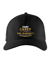 CAREY - THING YOU WOULDNT UNDERSTAND Embroidered Hat front