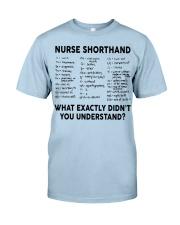 NURSE SHORTHAND Classic T-Shirt thumbnail