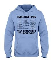 NURSE SHORTHAND Hooded Sweatshirt thumbnail