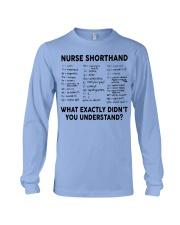 NURSE SHORTHAND Long Sleeve Tee thumbnail