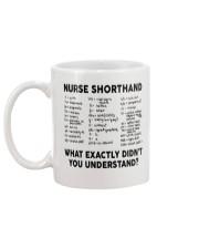 NURSE SHORTHAND Mug back