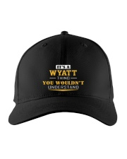 WYATT - THING YOU WOULDNT UNDERSTAND Embroidered Hat front