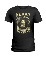 PRINCESS AND WARRIOR - KERRY Ladies T-Shirt front