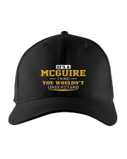 MCGUIRE - Thing You Wouldnt Understand Embroidered Hat front