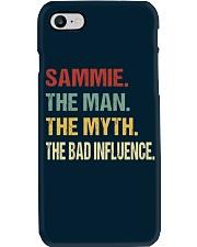 Sammie The man The myth The bad influence Phone Case thumbnail
