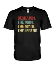 THE LEGEND - Deshawn V-Neck T-Shirt thumbnail